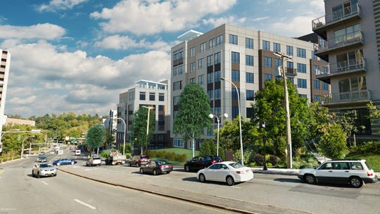 Rendering of The Duet in White Plains