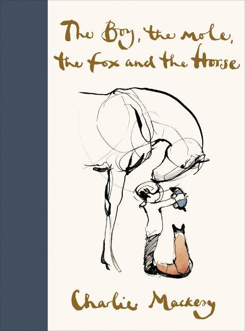 The Boy The Mole The Fox And The Horse By Charlie Mackesy Is The Barnes Noble Book Of The Year