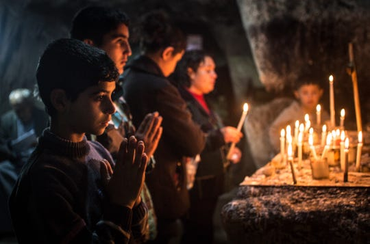 Christians are being persecuted around the globe. That's the real war on Christmas.