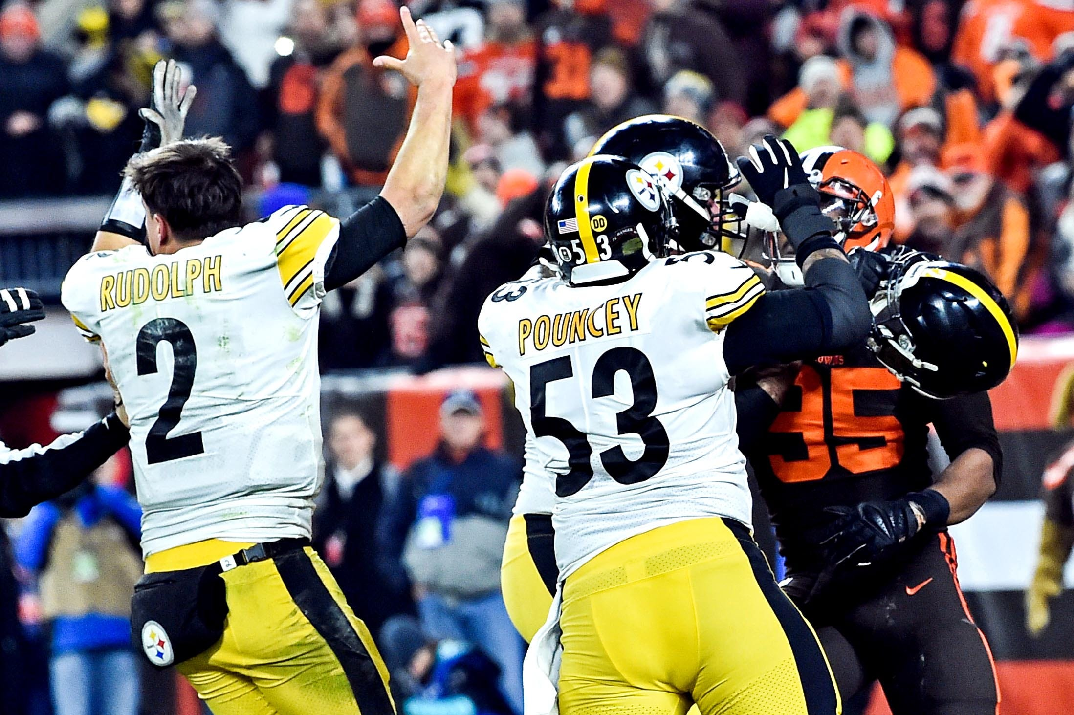 Steelers C Maurkice Pouncey: Fight with Myles Garrett, Browns 'was worth it'