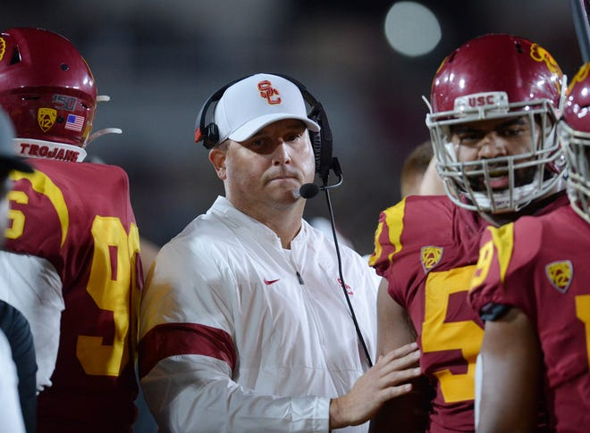Clay Helton Will Return As Usc Football Coach Ad Mike Bohn Says