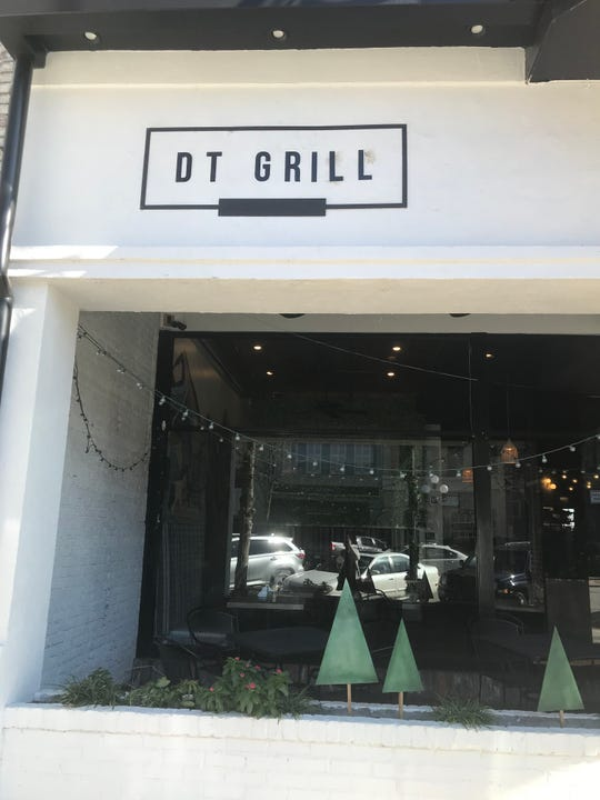 DT Grill opened in October, taking the place of DT Taco. Both restaurants were created and run father and son, Gus and Tony Ashy.