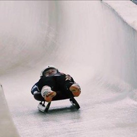 """Jessa Muller of New London is headed to Latvia to train with the USA Luge Junior """"C"""" Team."""