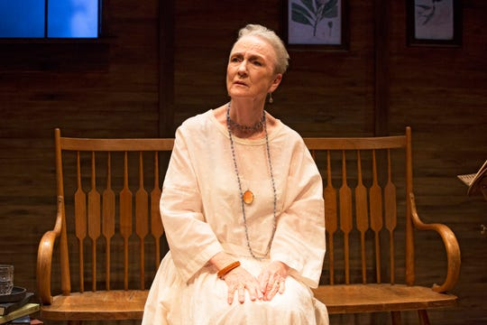 """Kathleen Chalfant stars as Mabel Loomis Todd in Rebecca Gillman's """"A Woman of the World."""""""