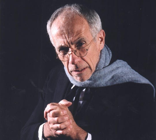 "1998: 'The Cider Mill Playhouse's Bill Gorman as Scrooge in the 1998 production of 'A Christmas Carol.' The Cider Mill Playhouse's Bill Gorman as Scrooge in 1998 production of  ""A Christmas Carol."""