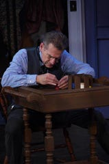 "Tom Kremer plays Scrooge in a Cider Mill Playhouse production of ""A Christmas Carol."""