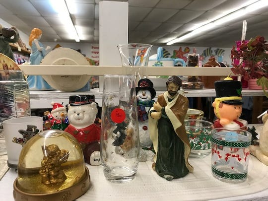 Local nonprofits' thrift store shelves are filled with holiday merchandise, the sale of which benefits the nonprofits' work on the Space Coast.