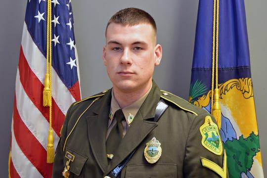 Vermont State Police Trooper Matthew Hood.
