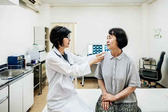 Due to aging, women can experience an increased risk of various health issues - including osteoporosis.