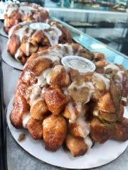 Too Sweet Monkey Bread is a big hit on Christmas morning, shown here from Too Sweet Bakery in Deptford.