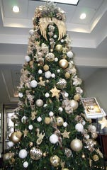 The Memorial Gold Star Tree in City Hall
