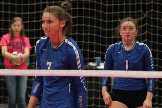 Wichita State signee Morgan Weber (No. 7) was a force for Dike-New Hartford in her senior season.