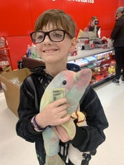Killian and his beloved stuffed dolphin were reunited Wednesday night after a Target employee found her behind some other toys. The dolphin had been missing since Sept. 22.