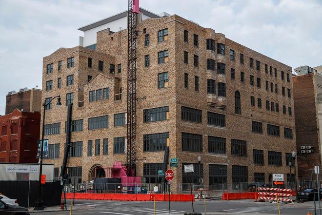 Women's City Club of Detroit building in downtown Detroit, Thursday, Dec. 5, 2019.