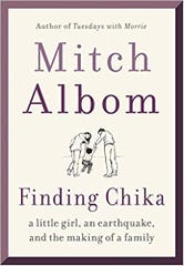 """Cover for """"Finding Chika"""" by Mitch Albom"""