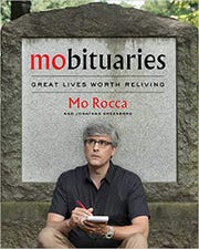 "Cover for ""Mobituaries"" by Mo Rocca"