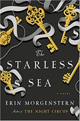 """Cover for """"The Starless Sea"""" by Erin Morgenstern"""