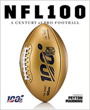 """Cover for """"NFL 100: A Century of Pro Football"""""""