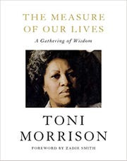 """Cover for """"The Measure of Our Lives"""" by Toni Morrison"""