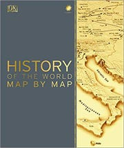 """Cover for """"History of the World Map"""""""