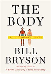 """Cover for """"The Body"""" by Bill Bryson"""
