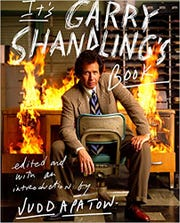 """Cover for """"It's Garry Shandling's Book"""" edited by Judd Apatow"""