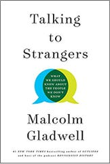 """Cover for """"Talking to Strangers"""" by Malcolm Gladwell"""