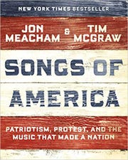"""Cover for """"Songs of America"""" by Jon Meacham and Tim McGraw"""