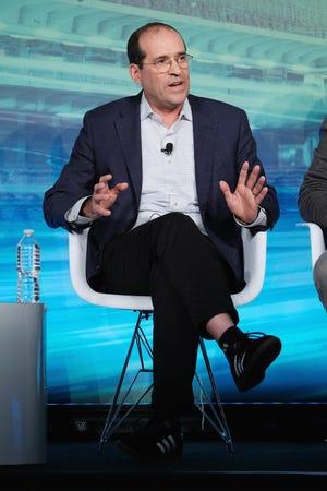 Howard Handler speaks as part of a 2016 Advertising Week New York panel.