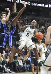 Guard Cassius Winston and Michigan State didn't envision being 5-3 after the first eight games of this season.