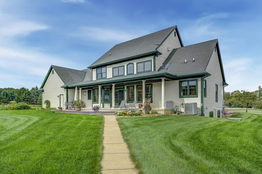 This two-story home in Saline, listed for $995,000, and the acreage that surrounds it combines the equestrian amenities a horse owner in Michigan desires with a custom-built home just 45 miles from Detroit and just 10 miles from Ann Arbor.