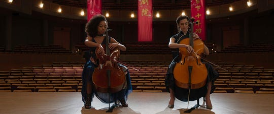 "Logan Browning and Allison Williams in ""The Perfection."""