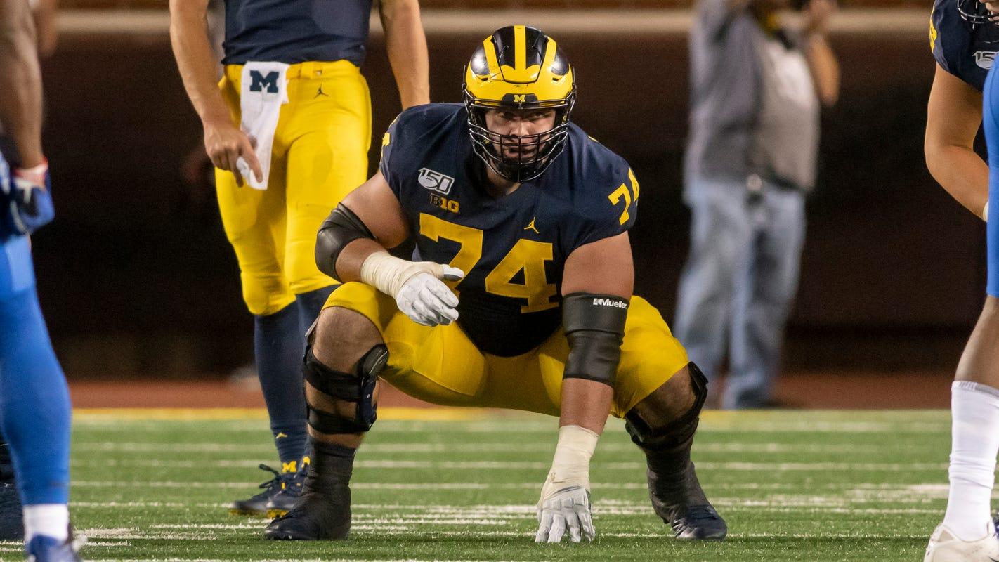 Michigan linemen Bredeson, Runyan named All-Big Ten First Team