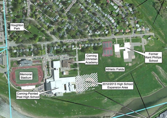 Corning Inc. is working with state agencies to clean up soil contamination in several Corning Northside neighborhoods.