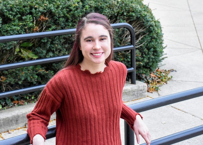 Terra State Community College criminal justice student Abigail Swartzfager of Fremont has been named the college's Fremont Rotary Student of the Month.