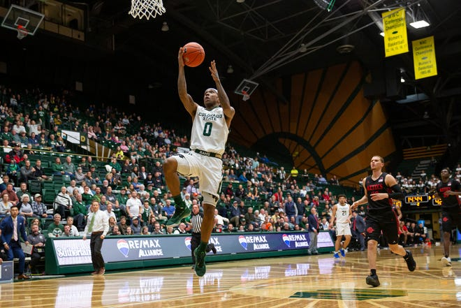 The CSU men's basketball team plays South Dakota State at 7 p.m. Tuesday at Moby Arena.
