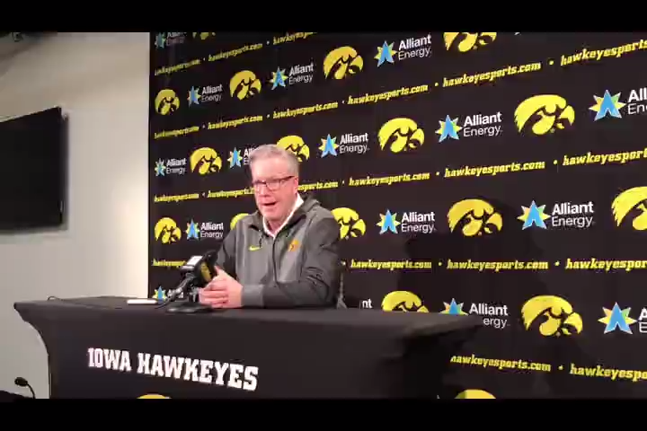 Iowa coach Fran McCaffery likes how his team has responded to early-season adversity