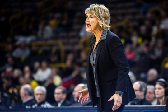 Iowa women's basketball coach Lisa Bluder thinks the team will need to do more at the Big Ten Tournament to insure it's a top-four seed at the NCAAs.