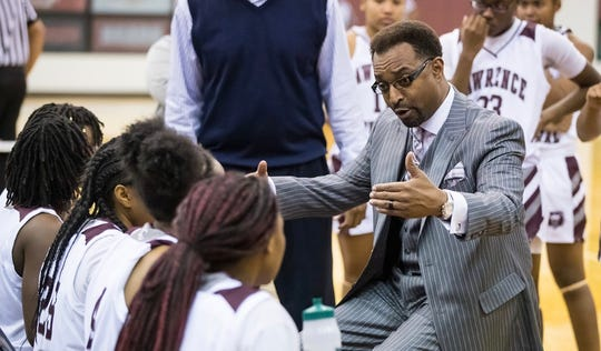 Lawrence Central coach Antoine Wynne is in his second year as Bears head coach.