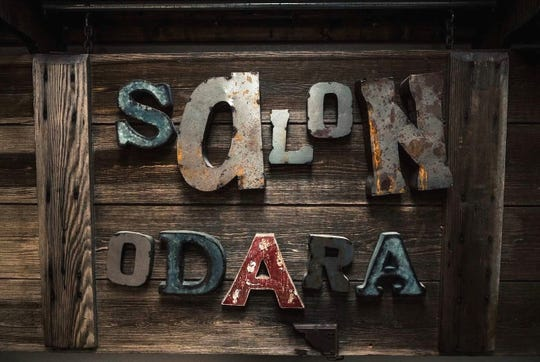Salon Odara has a unique, rustic style that owner Courtney Brown hopes is warm and inviting.