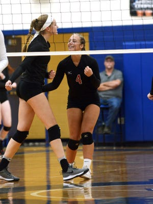 Fairfield Union's Rylee Barr named 2019 Eagle-Gazette Volleyball Player of the Year.