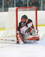 Brighton's Chris Wozniak made 12 saves for his first shutout in a 4-0 victory over Livonia Churchill.