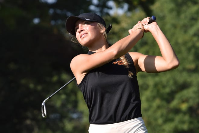 Maggie Pietila is the latest in a line of all-state golfing sisters to play for Brighton.