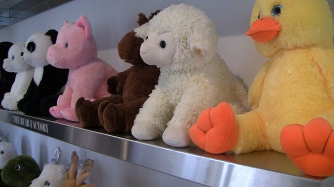 Unicorn Teddy Bear Toys R Us, Family Brings Stuffed Animal Business Home To Livingston County