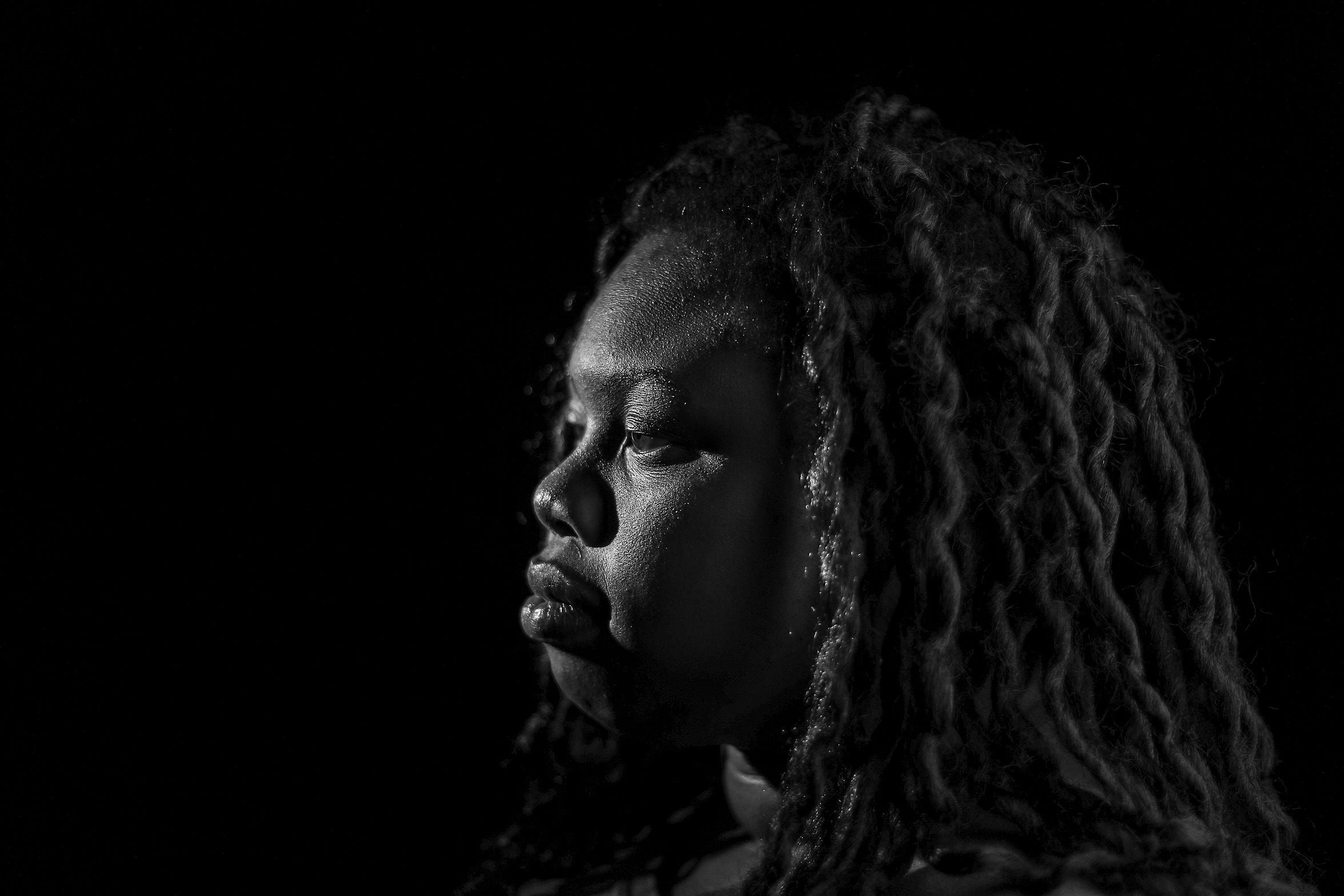 KiKi Shelton, 24, is one of Louisville's disconnected youth.  She's tried for years to find steady employment but has found the path to be difficult.November 25, 2019