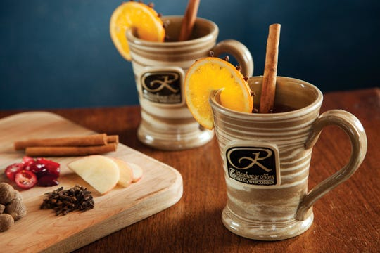 This mulled wassail punch from the Old Rittenhouse Inn in Bayfield is a fragrant hot beverage for a holiday meal.