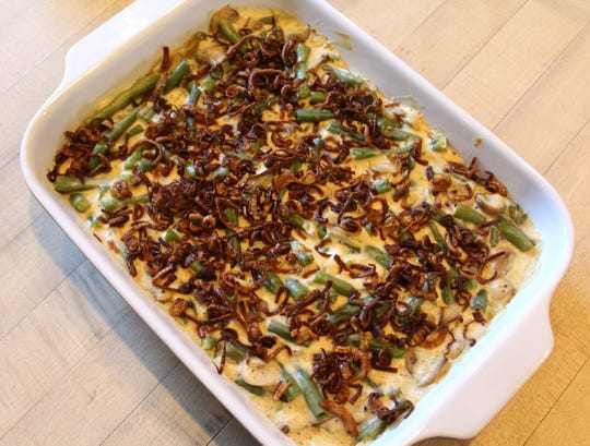 Green bean casserole is reimagined in this from-scratch recipe from Madison cooking teacher Debra Shapiro.