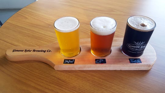 Geneva Lake Brewing Co. in Lake Geneva offers a variety of beers on tap, from IPAs to stouts.