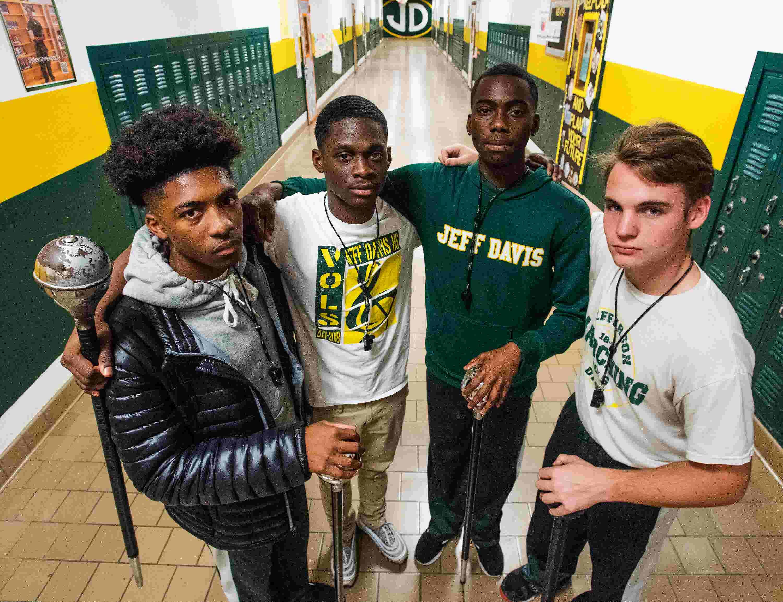 Jeff Davis High School Drum Majors Talk About Teamwork