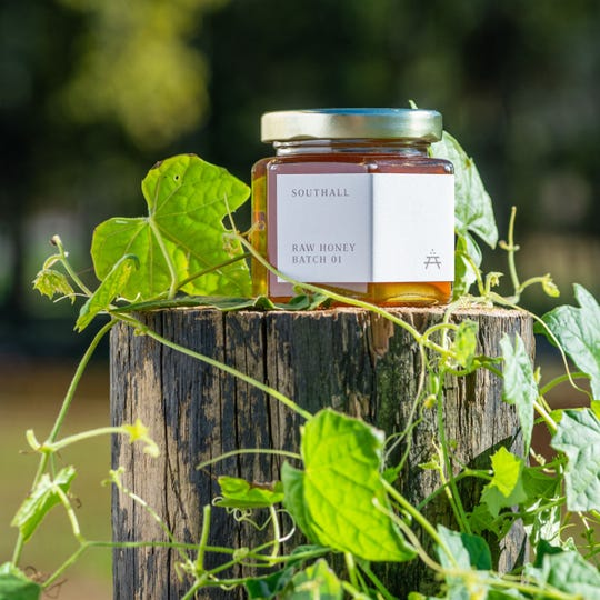 Honey from Southall Farms in Franklin is a finalist in the national Good Food Awards.